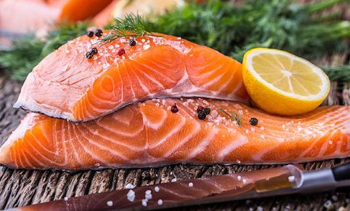 Thịt cá hồi chứa rất nhiều Axit béo Omega-3
