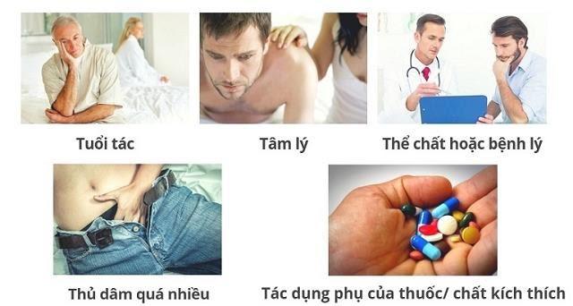 Nguyên nhân dẫn đến liệt dương